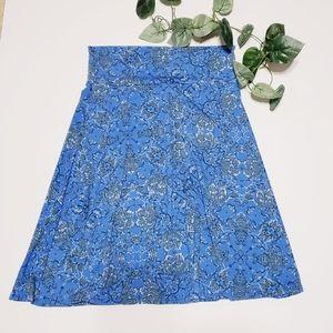 Lularoe Size Large Azure Skirt